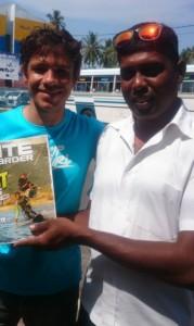 Mervyn Kitesurfing Lanka