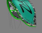 Zian kiteboarding