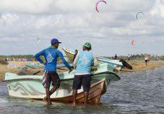 Kitesurf boat trip