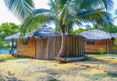 Kalpitiya lagoon bungalow outside