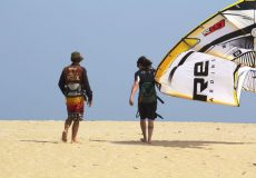 Mischi kite instructor