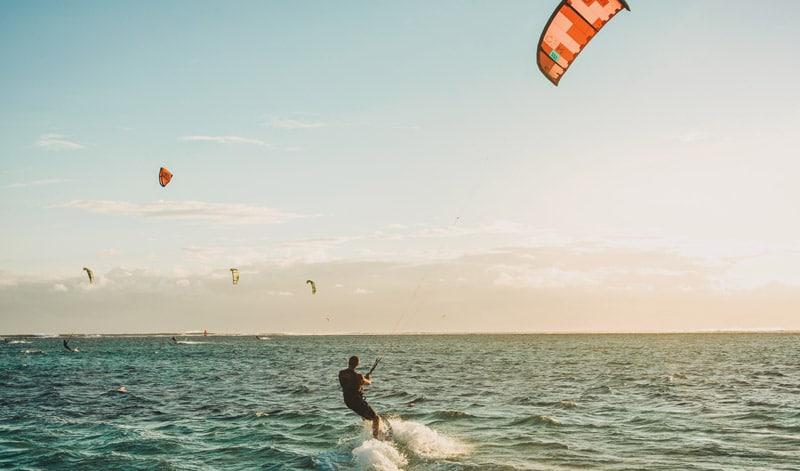 windsurfen kitesurfen