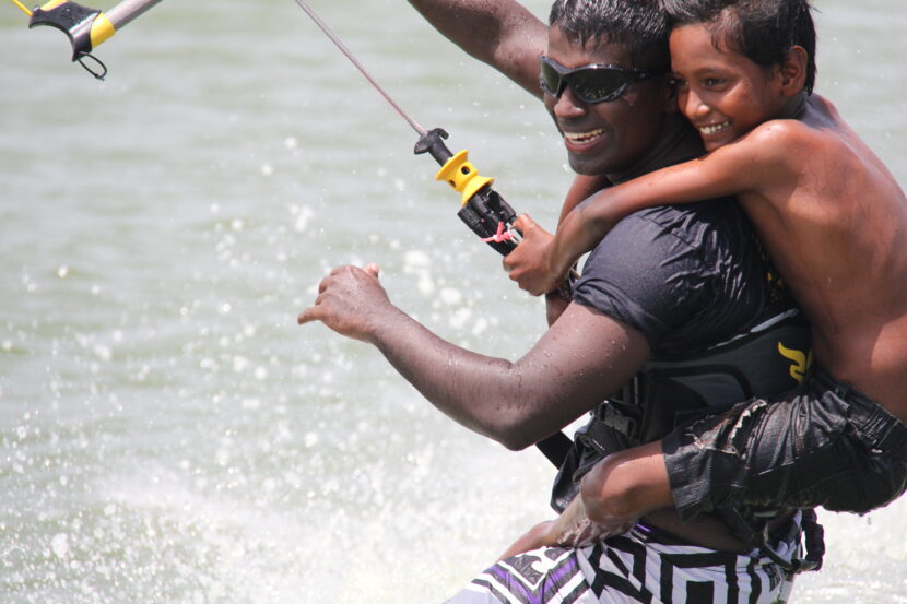 History of Kitesurfing Lanka