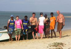 Kitesurfing in Sri Lanka; the history of Kitesurfing Lanka and how we found Vella Island