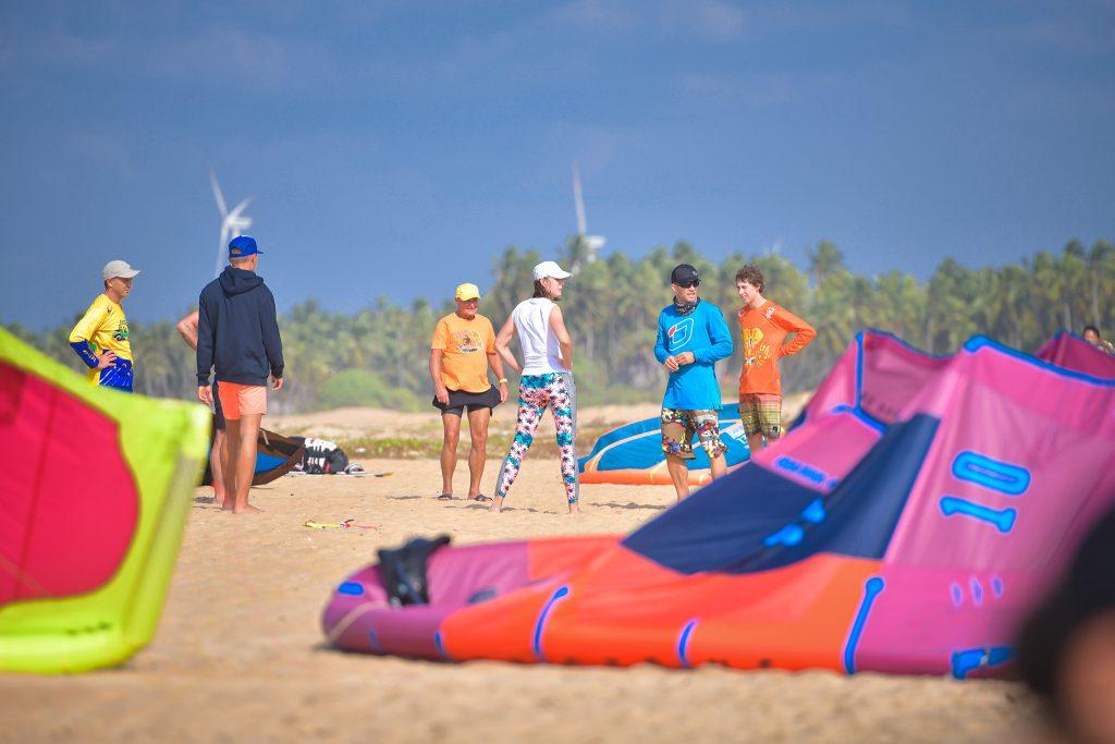 Kitesurfen lernen für Anfänger - Paola's Erfahrung in der Kiteschule 2