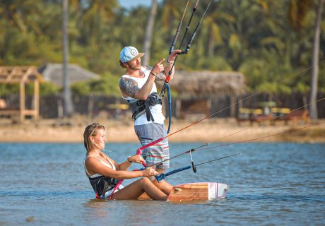 IKO kitesurfing instructor training