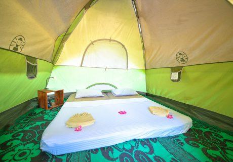 Tente glamping