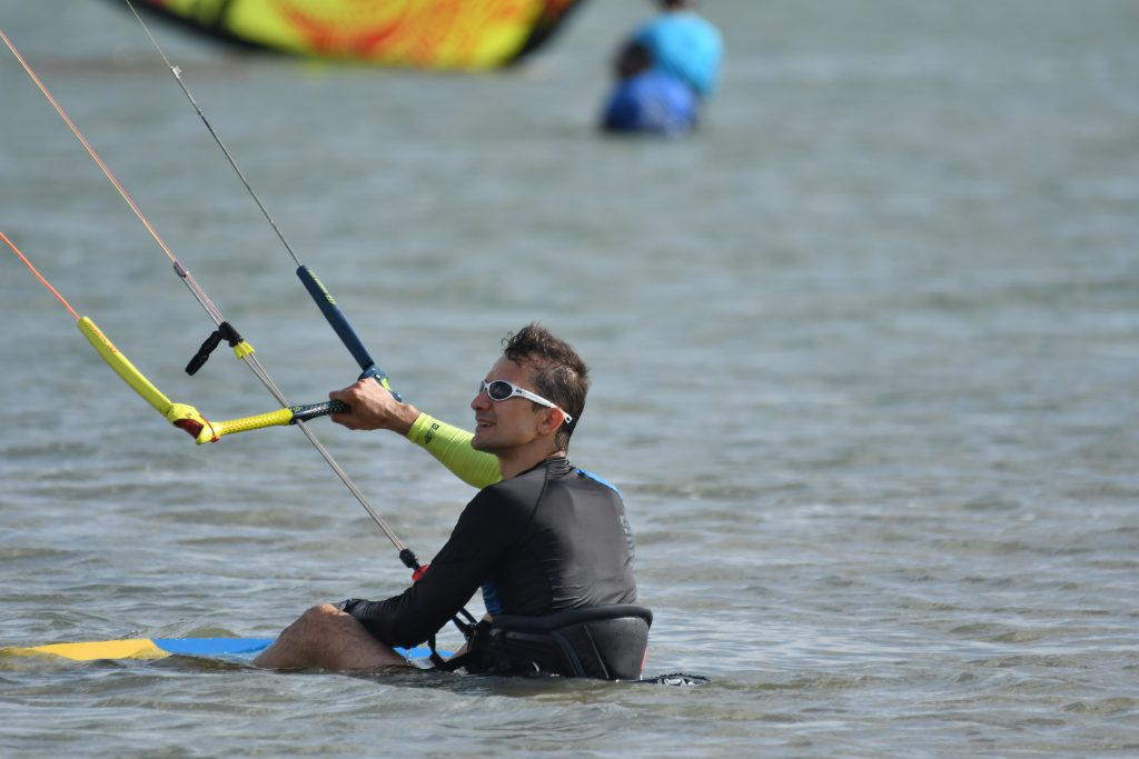 kiteboard waterstart