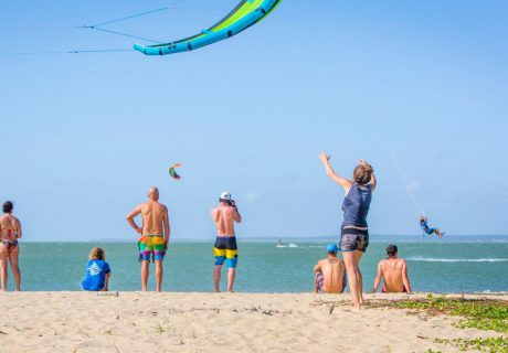Kitesurfen wird mit uns von Kitesurfing Lanka nie langweilig!