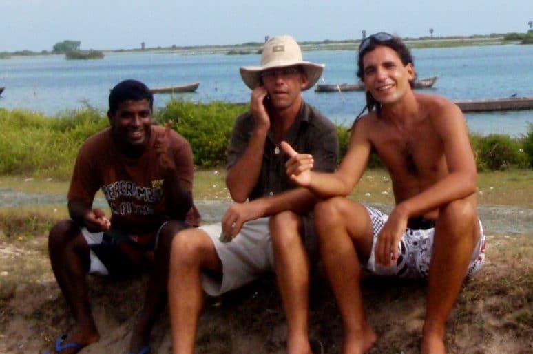 Kitesurfing Lanka beginnings
