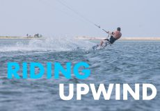 Kitesurfing basics: Riding upwind