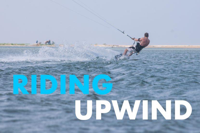 Kitesurfing basics: Riding upwind 19