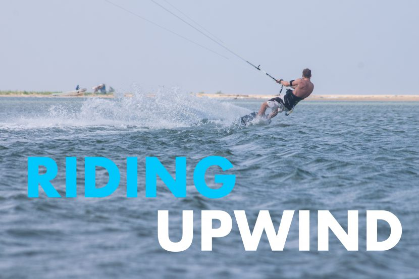 Kitesurfen basics: Upwind rijden 1