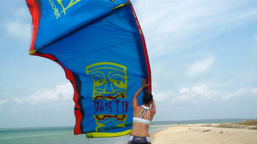 KSL and Zian kiteboarding 1
