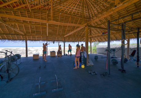 BNKR Crossfit on the beach