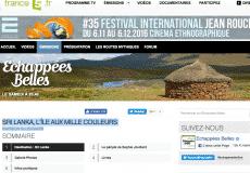 Kitesurfinglanka sur France 5 dans «Echappées Belles»