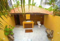 Kalpitiya lagoon bungalow outside bathroom