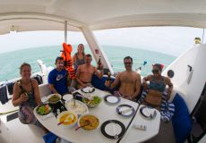 Catamaran accommodation 5