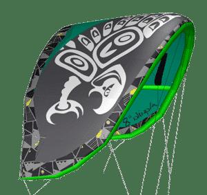 zian kites aquila v2 green